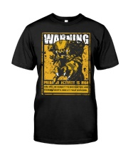 The Predator Warning Classic T-Shirt front