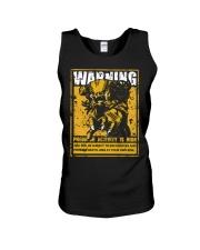 The Predator Warning Unisex Tank thumbnail