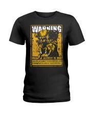The Predator Warning Ladies T-Shirt thumbnail