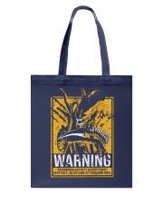 Xenomorph Warning Tote Bag thumbnail