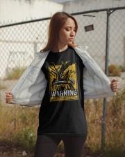 Xenomorph Warning Classic T-Shirt apparel-classic-tshirt-lifestyle-07