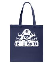 Pirate white Tote Bag thumbnail