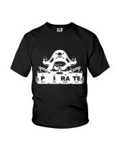 Pirate white Youth T-Shirt thumbnail