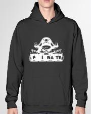 Pirate white Hooded Sweatshirt garment-hooded-sweatshirt-front-04