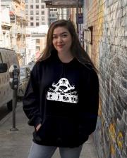 Pirate white Hooded Sweatshirt lifestyle-unisex-hoodie-front-1