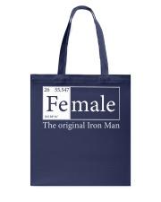 Female The Original Ironman Tote Bag thumbnail