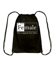 Female The Original Ironman Drawstring Bag thumbnail