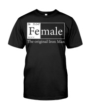 Female The Original Ironman Classic T-Shirt front