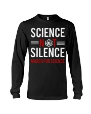 Science not silence Long Sleeve Tee thumbnail