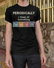 Periodically i think of something genius Classic T-Shirt apparel-classic-tshirt-lifestyle-21