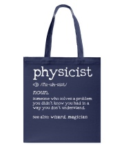 Physicist Define Tote Bag thumbnail