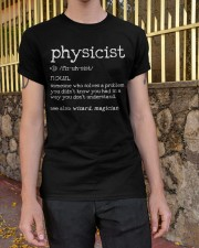 Physicist Define Classic T-Shirt apparel-classic-tshirt-lifestyle-21