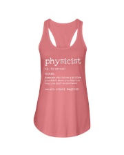 Physicist Define Ladies Flowy Tank tile