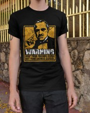 The Godfather Warning Classic T-Shirt apparel-classic-tshirt-lifestyle-21