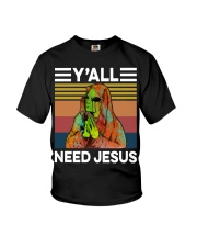 Alien Need Jesus Youth T-Shirt thumbnail