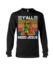 Alien Need Jesus Long Sleeve Tee thumbnail
