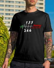 Racing is the way we live Classic T-Shirt lifestyle-mens-crewneck-front-8