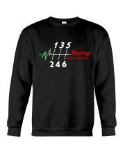 Racing is the way we live Crewneck Sweatshirt thumbnail