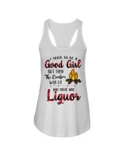 Good Girl liquor Ladies Flowy Tank thumbnail