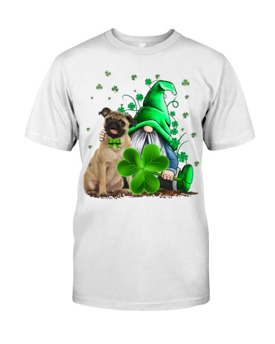 Pug And Gnomes St Patrick's Day