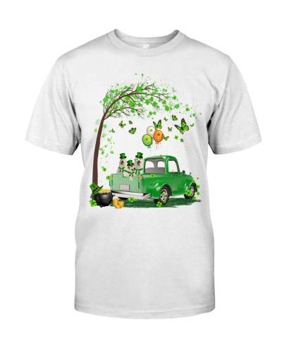 Great Pyrenees Truck St Patrick's Day