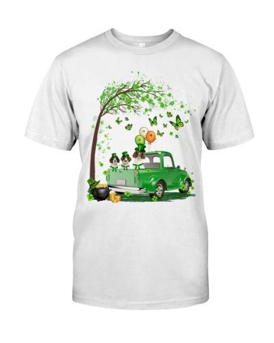 English Springer Spaniel Truck St Patrick's Day