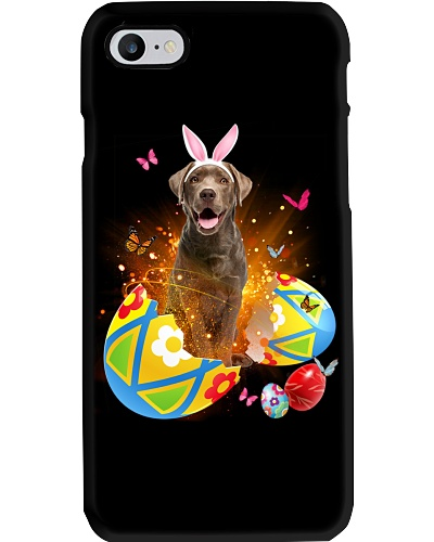 Chocolate Labrador Easter Eggs