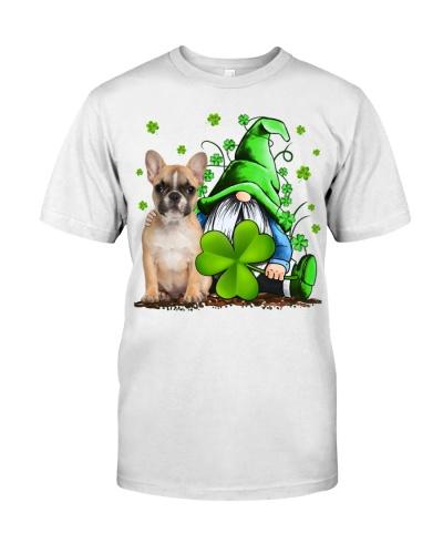 French Bulldog And Gnomes St Patrick's Day