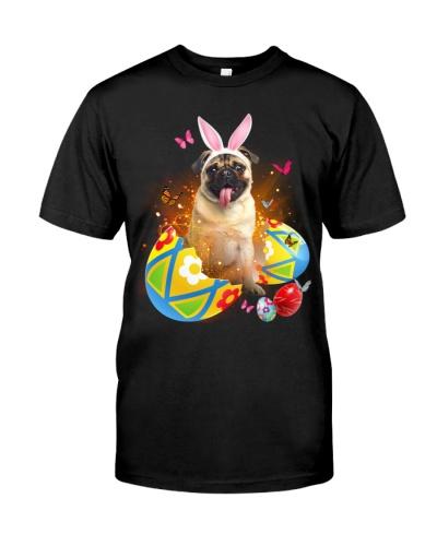 Pug Easter Eggs