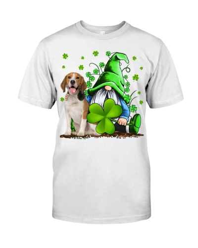 Beagle And Gnomes St Patrick's Day