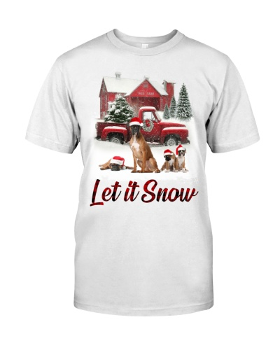 boxer let is snow