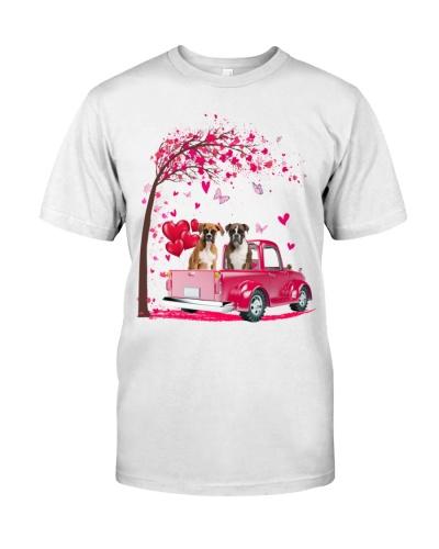 boxer Truck Valentine's Day
