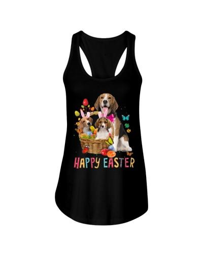 Beagle Happy Easter Basket Egg VC