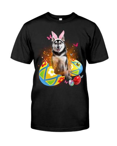 Husky Easter Eggs
