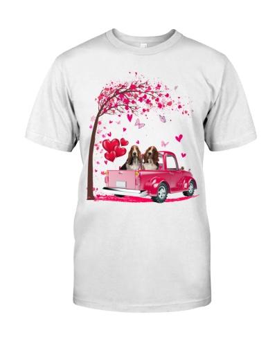 Basset Hound Truck Valentine's Day