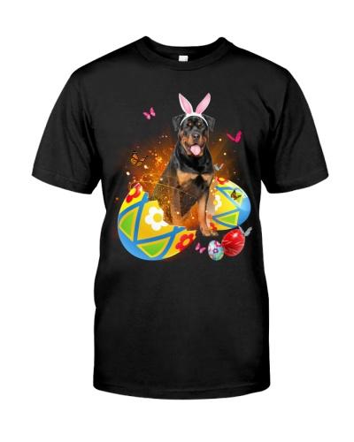 Rottweiler Easter Eggs