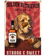 Golden Retriever Jim Beam 21-2 TNT 24x36 Poster front