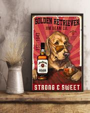 Golden Retriever Jim Beam 21-2 TNT 24x36 Poster lifestyle-poster-3