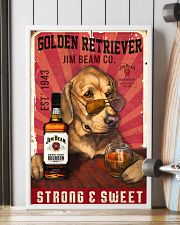 Golden Retriever Jim Beam 21-2 TNT 24x36 Poster lifestyle-poster-4