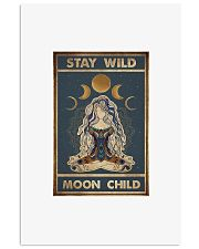 Stay wild moon child 11x17 Poster front