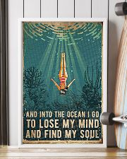 Swimming And into the ocean I go to lose 11x17 Poster lifestyle-poster-4