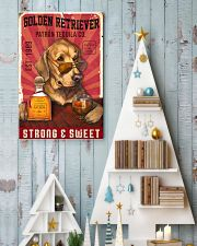 Golden Retriever Patrón Tequila 21-2 TNT 24x36 Poster lifestyle-holiday-poster-2