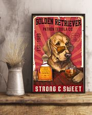 Golden Retriever Patrón Tequila 21-2 TNT 24x36 Poster lifestyle-poster-3