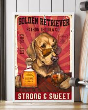 Golden Retriever Patrón Tequila 21-2 TNT 24x36 Poster lifestyle-poster-4