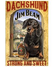 Dachshund Dog Jim Beam Company 0403 VT 24x36 Poster front