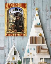 Dachshund Dog Jim Beam Company 0403 VT 24x36 Poster lifestyle-holiday-poster-2