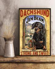 Dachshund Dog Jim Beam Company 0403 VT 24x36 Poster lifestyle-poster-3