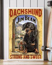Dachshund Dog Jim Beam Company 0403 VT 24x36 Poster lifestyle-poster-4