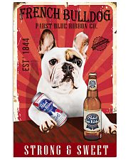 French Bulldog Pabst Blue Ribbon 20-2 TNT 24x36 Poster front