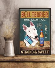Bull Terrier Dog Bud Light Company 1902-01-VT 24x36 Poster lifestyle-poster-3